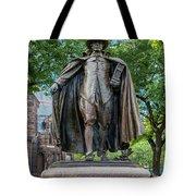 The Puritan Statue Tote Bag