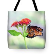 The Queen Of Butterflies  Tote Bag