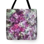 The Quiet Purple Clouds Tote Bag