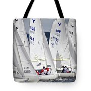 The Race Is On Tote Bag