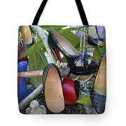 The Red Sole Shoes 4 Tote Bag