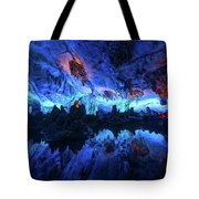 The Reed Flute Cave, In Guangxi Province, China Tote Bag