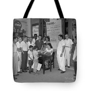 Currency Exchange Office Tote Bag