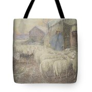 The Return Of The Shepherd Tote Bag