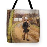 The Road Through The Village Of Ring Tote Bag