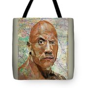 The Rock From California Tote Bag