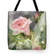 The Rose From A Misty Appalachia Tote Bag