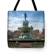 The Ross Fountain Tote Bag by Ross G Strachan