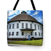 The Round Barn Tote Bag by Photography by Laura Lee