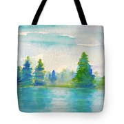 Somewhere To Be  Tote Bag
