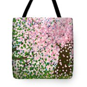 The Scenery Of Spring Tote Bag