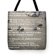 The Signs Of Love Tote Bag