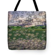 The Simplicity Of Bubbles  Tote Bag
