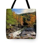 The Sinks On Little River Road In Smoky Mountains National Park Tote Bag
