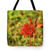 The Spider Lily Tote Bag