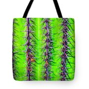 The Spines Of The Cactus Tote Bag