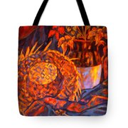 The Straw Hat Tote Bag