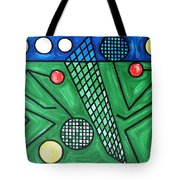 The Tennis Match Tote Bag
