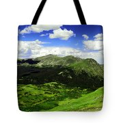 The Top Of Independence Pass Tote Bag