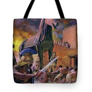The Trojan Horse Tote Bag