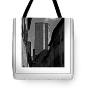 The Twin Towers Of San Gimignano, Italy Poster Tote Bag