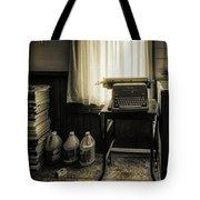 The Typewriter Tote Bag