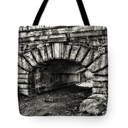 The Underpass Black And White Tote Bag