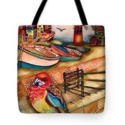 The Venician Bird Tote Bag