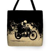The Vintage Motorcycle Racer Tote Bag