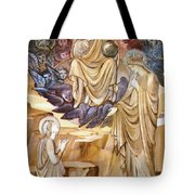 The Vision Of Saint Catherine Tote Bag