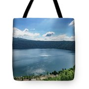 The Volcanic Beach Tote Bag