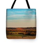 The Wakarusa River Valley Tote Bag by Jeff Phillippi