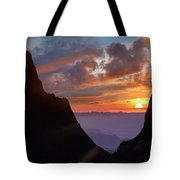 The Window At Sunset, Big Bend National Tote Bag