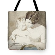 The Writing Lesson Tote Bag