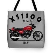 The Yamaha Xs1100 Tote Bag