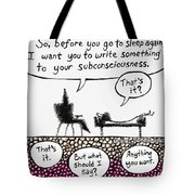 Therapy Assignment Tote Bag