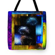 These Colors I Hear When Nancy Wilson Sings Turned To Blue  Tote Bag