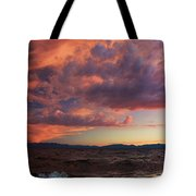 They Come In Waves  Tote Bag by Sean Sarsfield