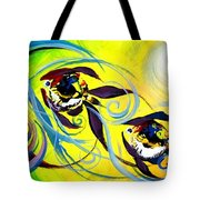 They Follow For A While Tote Bag