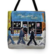 This Is For You Blue Tote Bag