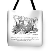 This Is My Girl Back Home Tote Bag