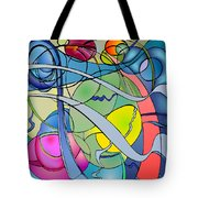 Thought Patterns #2 Tote Bag