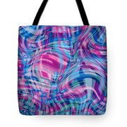 Thought Patterns - Warped #1 Tote Bag