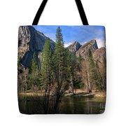 Three Brothers, Yosemite National Park Tote Bag