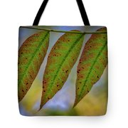 Three Leaves Tote Bag