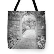 Through The Garden Gate Tote Bag