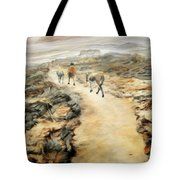 Through The Lava Field Tote Bag