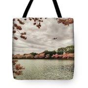 Tidal Basin Blossoms Tote Bag