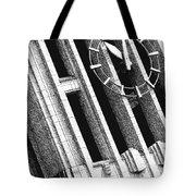 Time Tilts Tote Bag