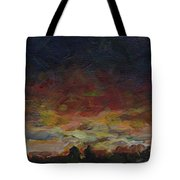Tiny Sunset Tote Bag